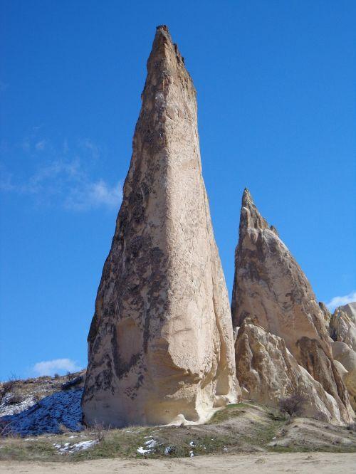 rock cappadocia rocky towers