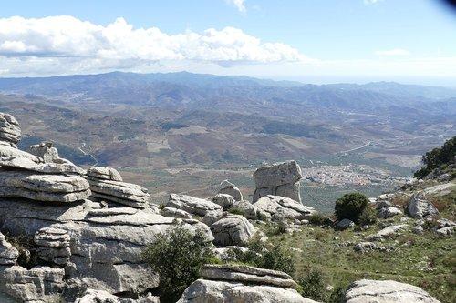 rock  rock formation  el-torcal-antequera