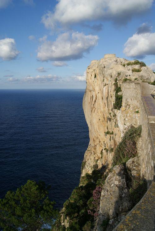 rock cliff mallorca