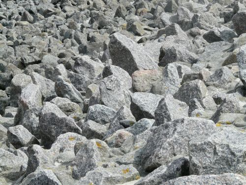 rock scree granite