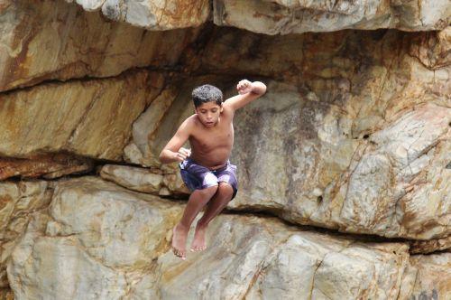 rock jump children