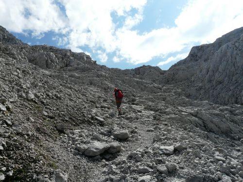 rock climbing hike