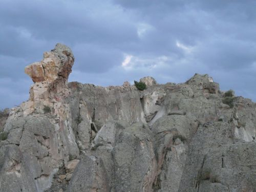rock cliff limestone