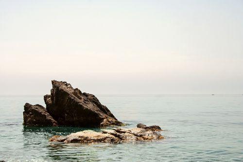rock cliff little