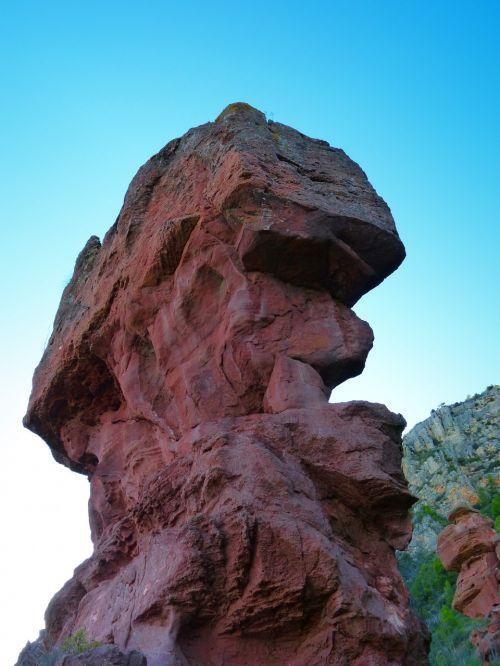 rock sandstone head shape symbol