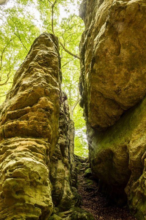 rock column passage