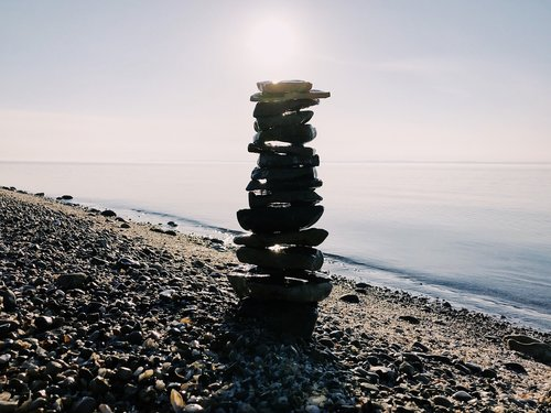 rock balance  stacked  stack