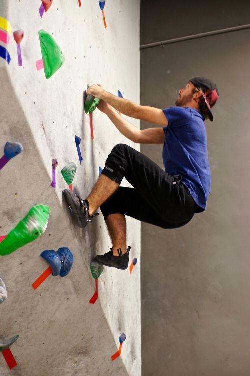 rock climbing sport activity