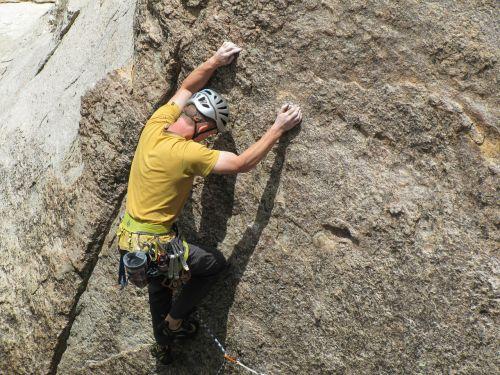 rock climbing extreme outdoor