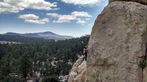 rock climbing mountain big bear