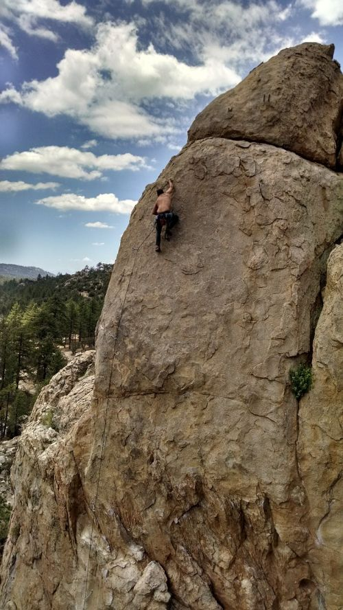 rock climbing climbing summit