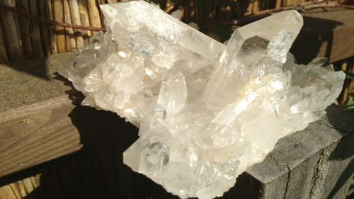 rock crystal take place arkansas crystal