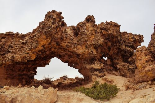 rock formation arch bridge