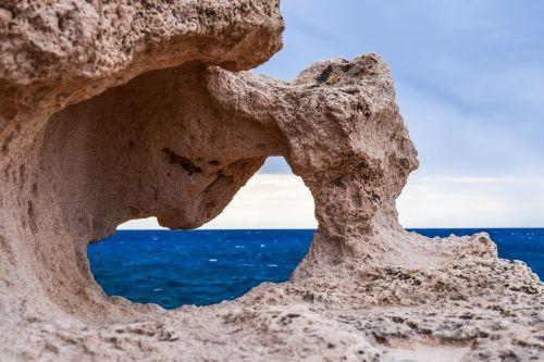 rock formation erosion window