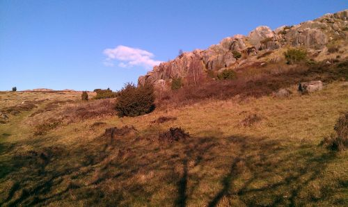 rock formations slots lyngen bornholm