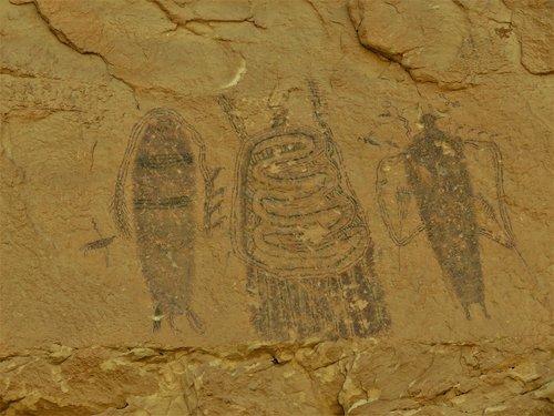 rock paintings  petroglyphs  utah