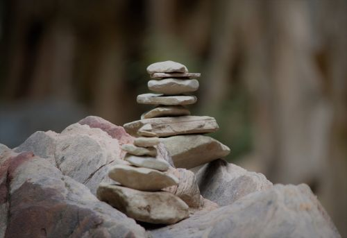 rock stack hidden canyon zion national park