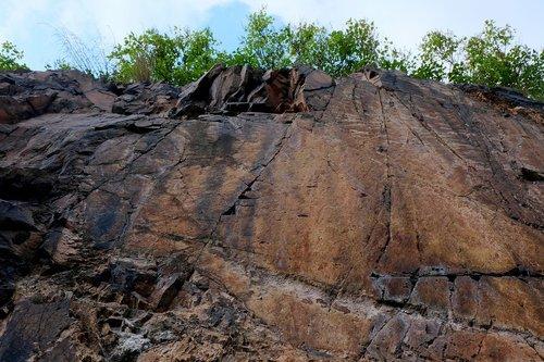 rock wall  steep  steep wall