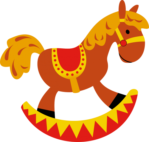 rocker rocking horse horse
