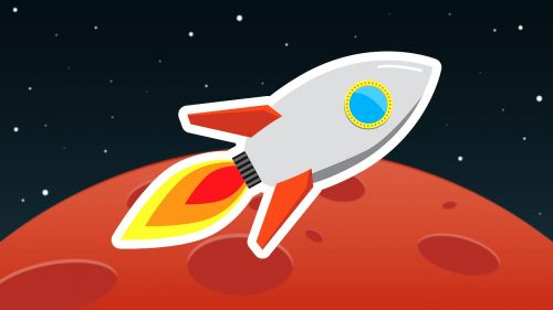 rocket cosmos flight