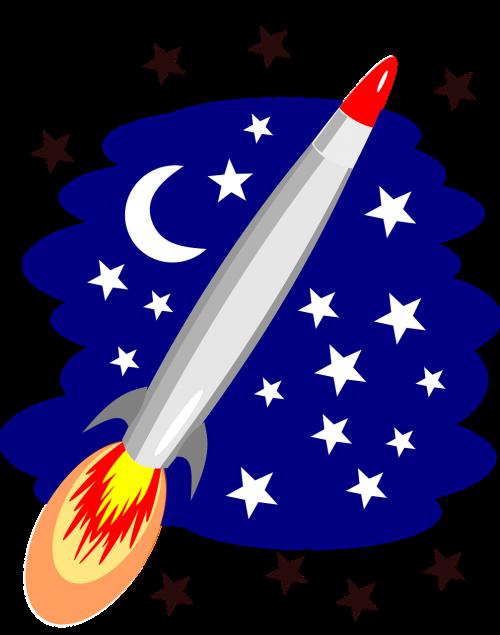 rocket stars space