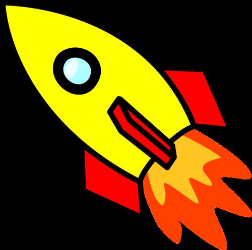 rocket spaceship space travel