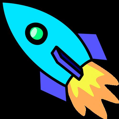 rocket propulsion spaceship