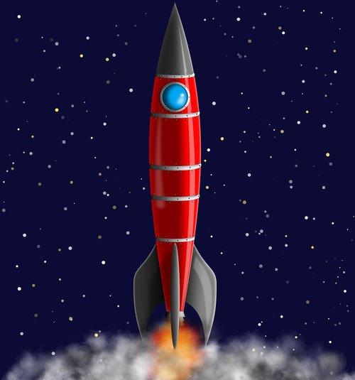 rocket  space  spacecraft
