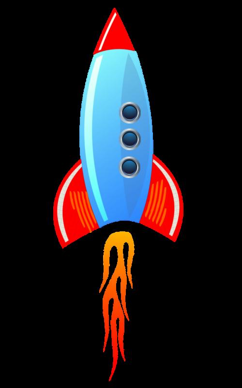 rocket spaceship launch