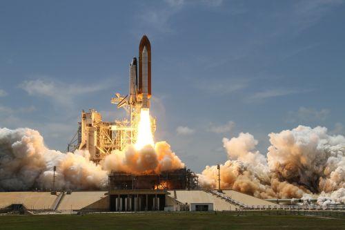 rocket launch smoke rocket