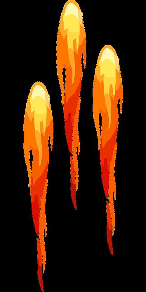 rockets flame fireworks