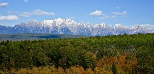 rockies landscape mountain