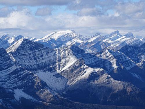 rockies cascade mountain rugged