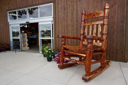 rocking chair store front rocker