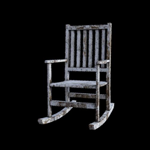 rocking chair  vintage  old