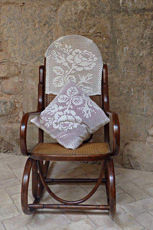 rocking chair  vintage  memories