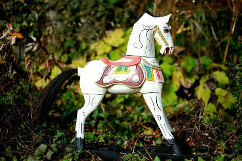 rocking horse wooden horse toys