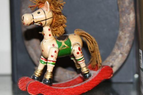 rocking horse miniature toy horse toy