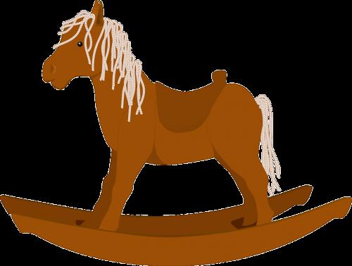 rocking horse rocker wooden