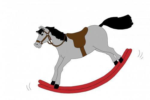 rocking horse horse toy
