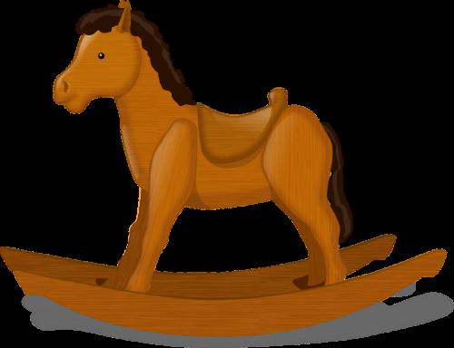 rocking horse child's toy horse