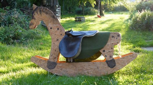 rocking horse toys wooden horse
