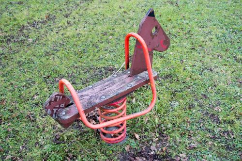 rocking horse playground rocking rocking horse
