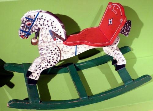 rocking horse child children