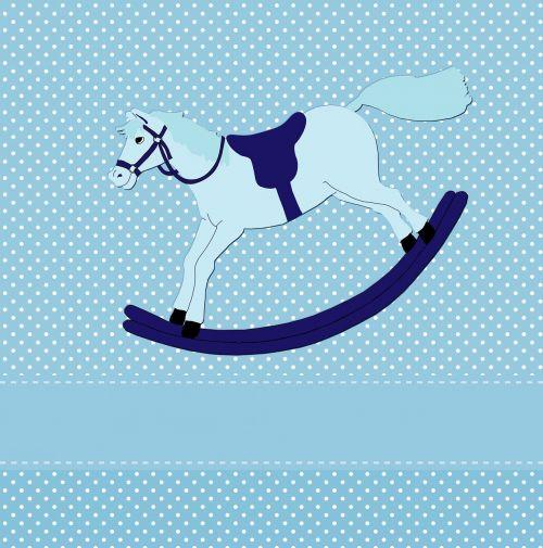 rocking horse toy horse