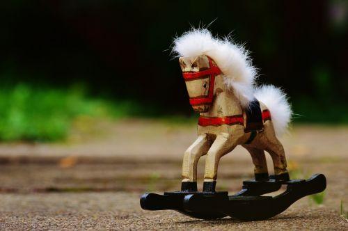 rocking horse toys wooden horse