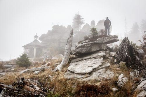 rocks male temple