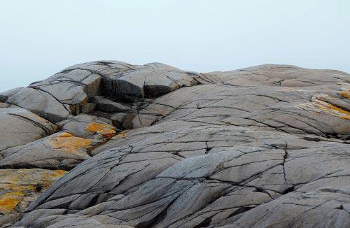 rocks peggys cove nova scotia