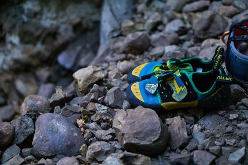 rocks stone shoe