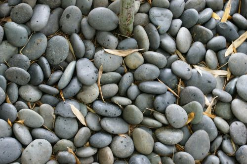 rocks pebbles gray